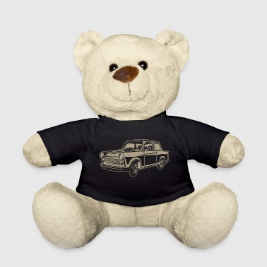 Trabi 601 - racing cardboard - Teddy Bear