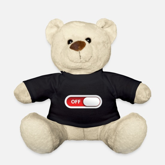 Program Teddy Bear Toys - offline off switch - Teddy Bear black