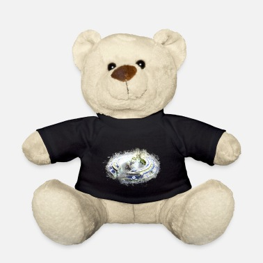 Abnormal Spaceship isolated brightly glowing - Teddy Bear