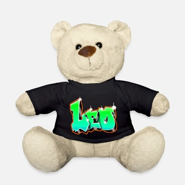 Rap Leo Graffiti Green - Nalle