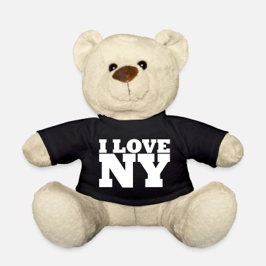 Ny NY - NYC - NEW YORK - I Love NY - I Love NY - Teddy Bear