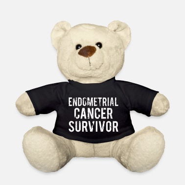 Endometrial Cancer Survivor Endometrial Cancer: Endometrial Cancer Survivor - Teddy Bear