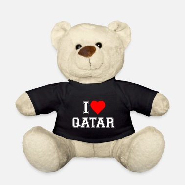 Doha I love Qatar - Teddy Bear