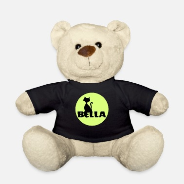 Isabella Bella Isabella First name name sign cat - Teddy Bear