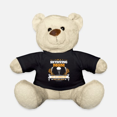 Sky Diving Sky Diving Mom Shirt Gift Idea - Teddy Bear