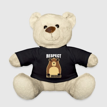 Ground Hog Respect The Groundhog Woodchuck Ground-Hog - Teddy Bear
