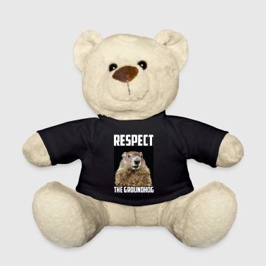 Ground Hog Respect The Groundhog Woodchuck Photo Ground-Hog - Teddy Bear