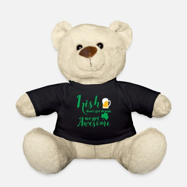 St Patricks Day St Patricks Day - Irish - Beer - Funny - Gift - Teddy Bear