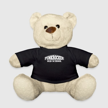 Punk Rocker Punk Rocker Punk Rock Old School - Teddy Bear