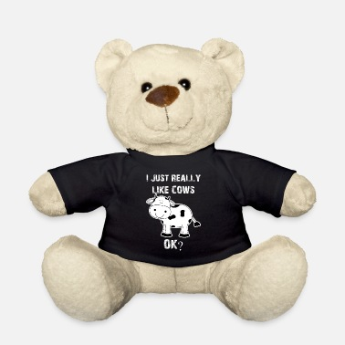 Cow Cow, cows, cow, Cow funny farmer - Teddy Bear