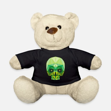 Emerald Emerald Skull - Teddy Bear