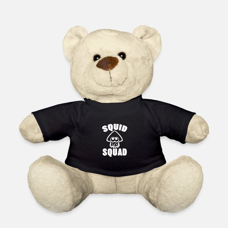 Squid Teddy Bear Toys - squid squad - Teddy Bear black