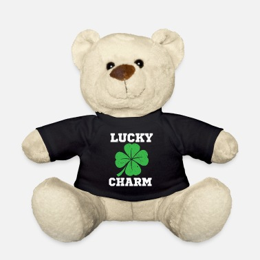 Day Day Lucky Charm Klaver St Patrick T-shirt - Teddybeer