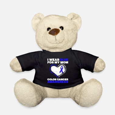 Fight Cancer Colon Cancer Awareness T-shirt - Teddy Bear