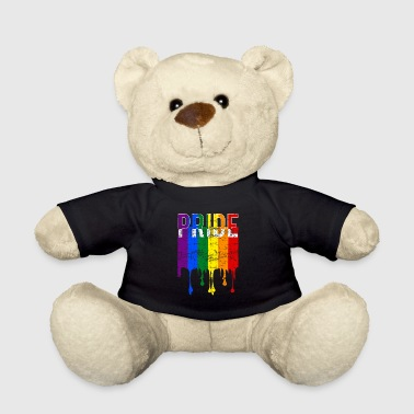 Gay pride rainbow banner - Teddy Bear