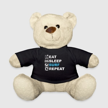Surf Surfers Surfboard Surfing Lifestyle Board - Teddy Bear