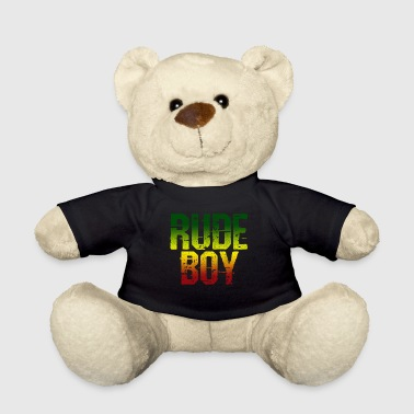 Rude Boy - Reggae Music Rasta Jamaica Gift - Teddy Bear
