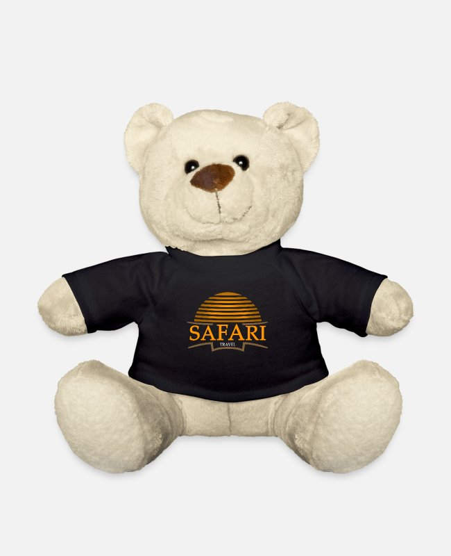 Easter Teddy Bear Toys - Safari Safari Safari - Teddy Bear black