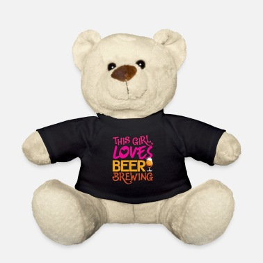 Brewsmeister Cool Hobby Brewer Brewmaster Gift Girl - Teddy Bear