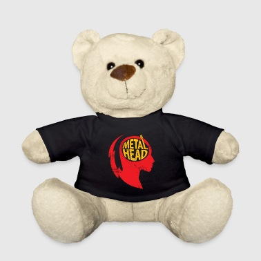 Metal Head Gift Christmas Music Rock - Teddy Bear