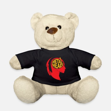Metal Metal Head Gift Christmas Music Rock - Teddy Bear