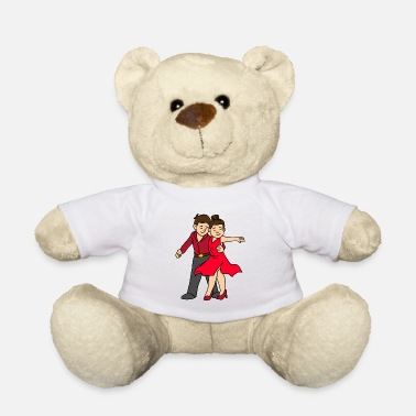 Dancing Ballroom Dancing Model - Teddy Bear