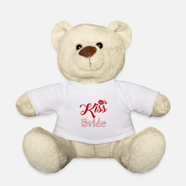 Wedding Dress Wedding bride wedding dress love gift marriage - Teddy Bear
