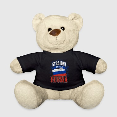 Russia flag flag gift gift idea - Teddy Bear