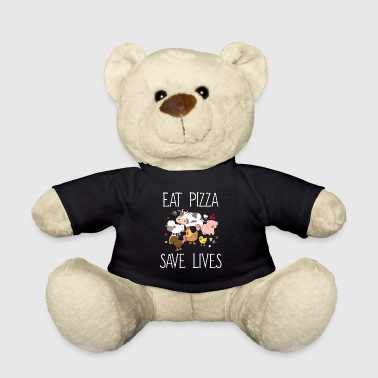 Eat pizza, save lives - Teddy Bear