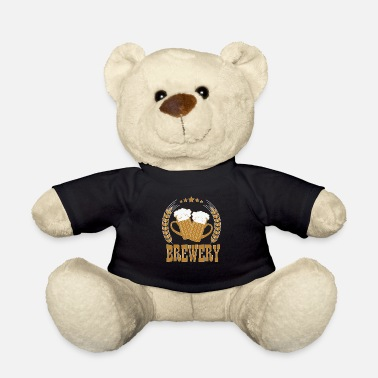 Brewery beer brewery shirt gift - Teddy Bear