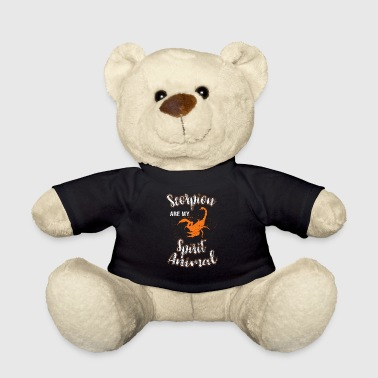 Scorpion Poison Sting Poisonous Gift Gift Idea - Teddy Bear