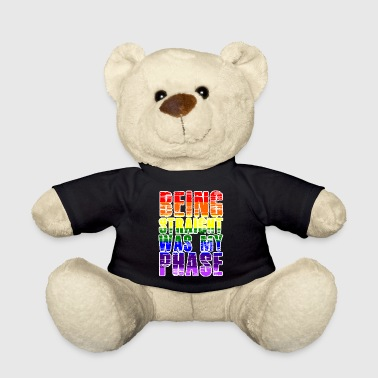 Equalizer LGBT Lesbian Gay Pride Parade Bi Trans Queer Pan Dark - Teddy Bear