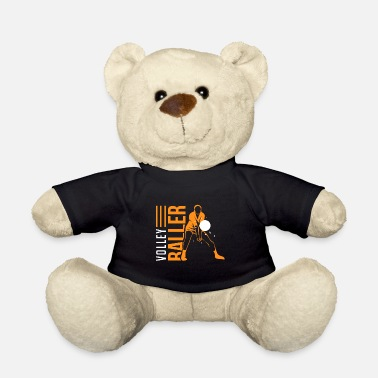 Volleyball Volleyball Game Volleyballer Gift - Teddy Bear