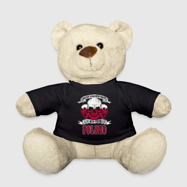 Polish Skull Poland nation flag gift gift idea - Teddy Bear