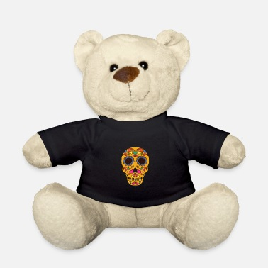Day Of The Dead Dias de los Muertos - skull - Teddy Bear