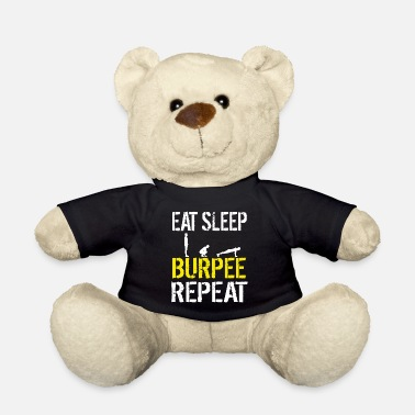 Bootcamp Funny Burpees Workout Obstacle Course Race Bootcamp - Teddy Bear