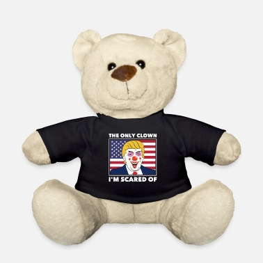 Fuck Anti Donald Trump Halloween Edition Vote For Dems - Teddy Bear