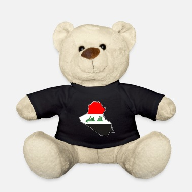 Iraq Iraq flag map - Teddy Bear