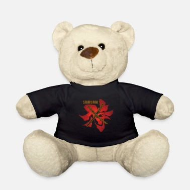 Facial Expressions Samurai Sword - Teddy Bear