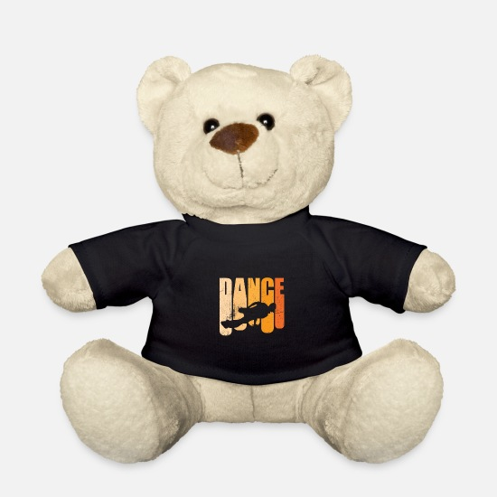 Bboy Teddy Bear Toys - Street Dance Handstand | Bboy Lifestyle Passion - Teddy Bear black