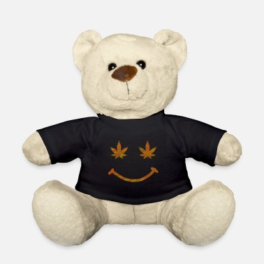 Stoner Weed Smile - Teddy Bear
