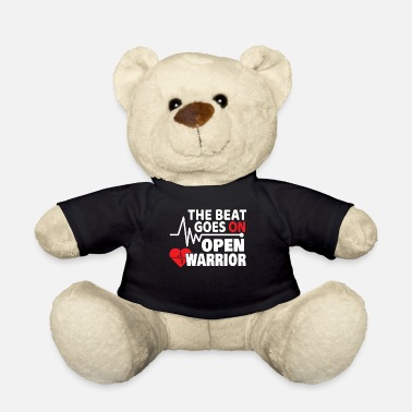 Heart The Beat Goes On Heart Attack Stroke Gift - Teddy Bear