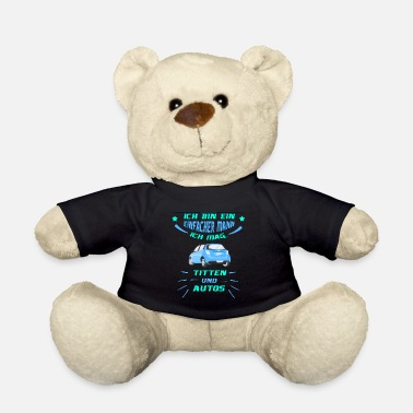 Turbo Car Shirt · I like Tits · Car Gift - Teddy Bear