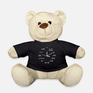 Science Math Design Clock - Teddy Bear