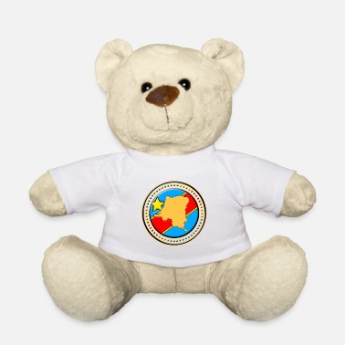 Congo Congo - Congo flag map - Teddy Bear