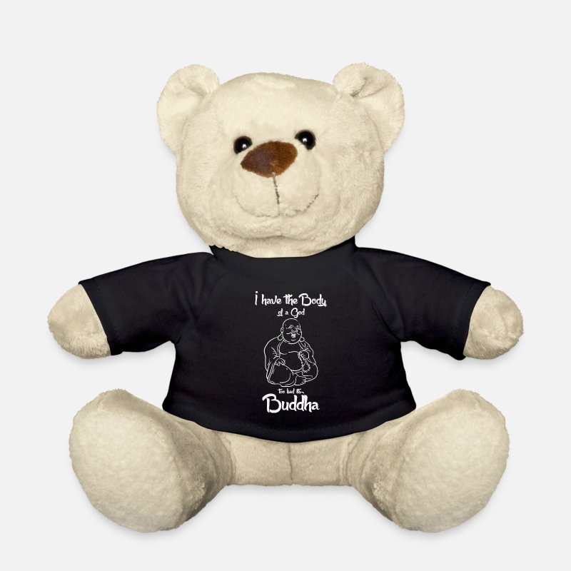 Buddhism Teddy Bear Toys - Buddhism - Teddy Bear black