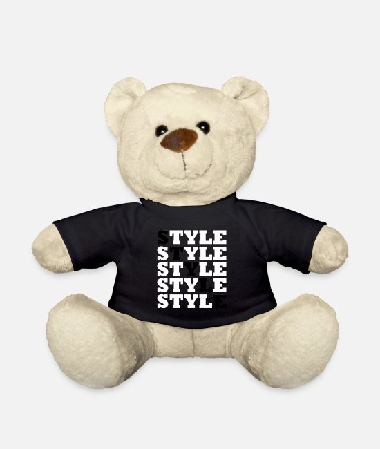 Right Teddy Bear Toys - Style - Street Style - Teddy Bear black