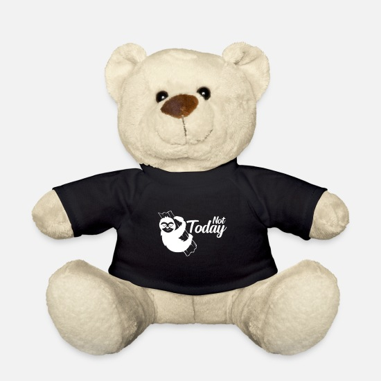 Birthday Teddy Bear Toys - Lazy - Teddy Bear black