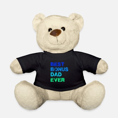 Dad Best Bonus Dad Ever - Stiefvater - Teddybär