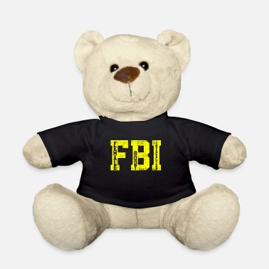 Federal FBI federal agent - Teddy Bear